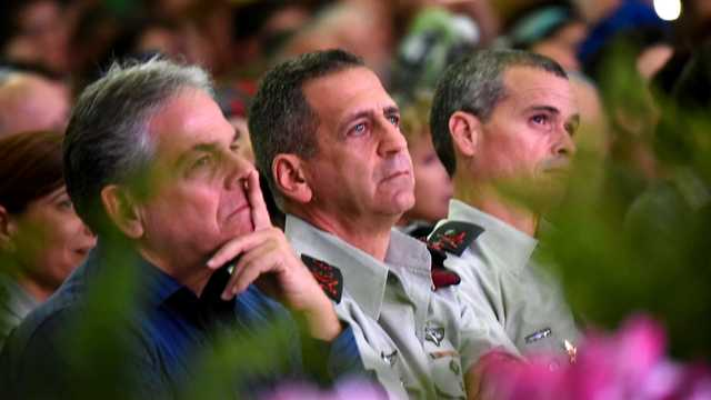 IDF Chief of Staff Maj. Gen. Aviv Kochavi attends the ceremony marking the 22nd anniversary of the helicopter disaster, January 30, 2019.