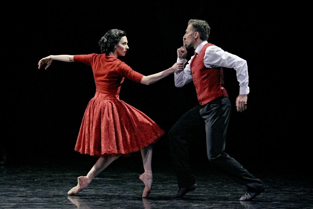 """Сцена из балета """"Вендетта"""". Фото: Саша Онищенко"""