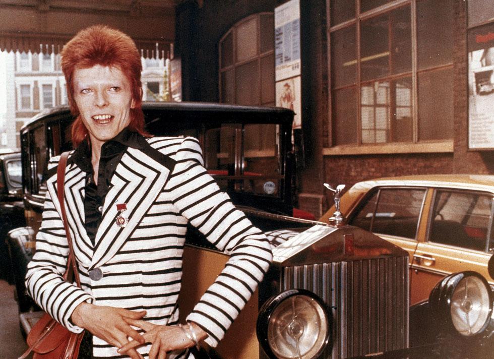 דייוויד בואי, 1973. הגיע למקום מכובד ברשימת הבריטים המשפיעים ביותר בהיסטוריה (צילום: AP)