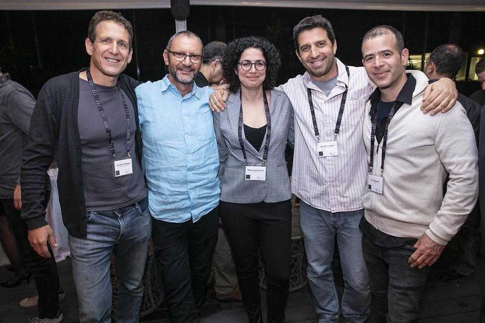 אורן ברקן מ-Movvit, אורי ווינברגר מ- Cathay Innovation VC, עו