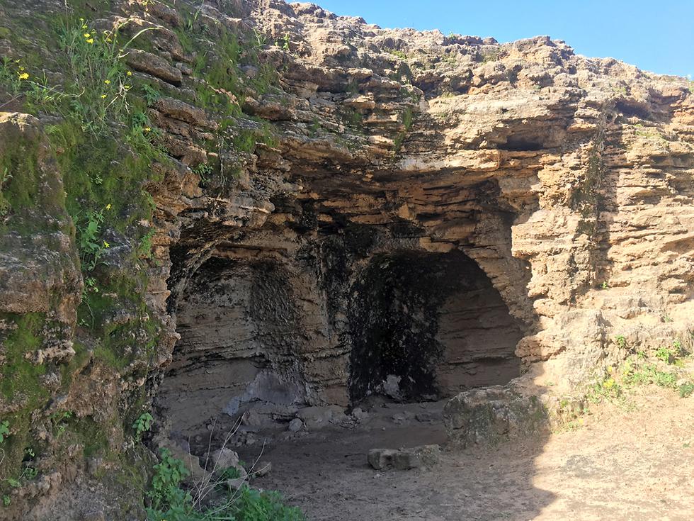 מערות אפקה (צילום: גלעד כרמלי)