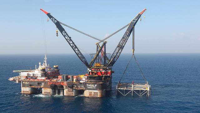 Leviathan natural gas site (Photo: Associated Press)