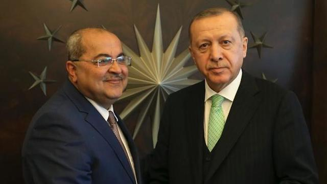 With Turkish President Erdogan (Photo: Erdogan press team)