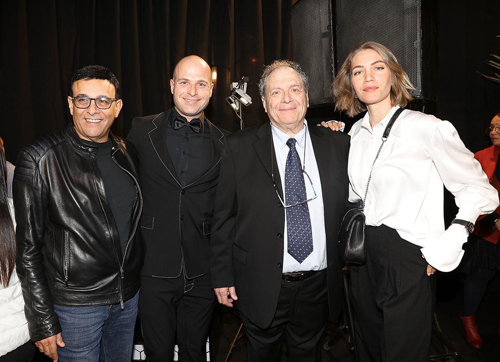 עסקית ג'ני צרואני, יעקב וטל קמחי, רוני מאנה (. צילום: רפי דלויה)