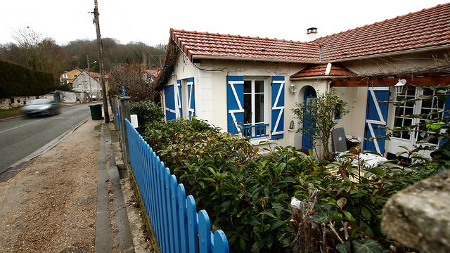 The house where Iran's late leader Ayatollah Ruhollah Khomeini stayed during his four month exile in Neauphle-le-Chateau, near Paris.