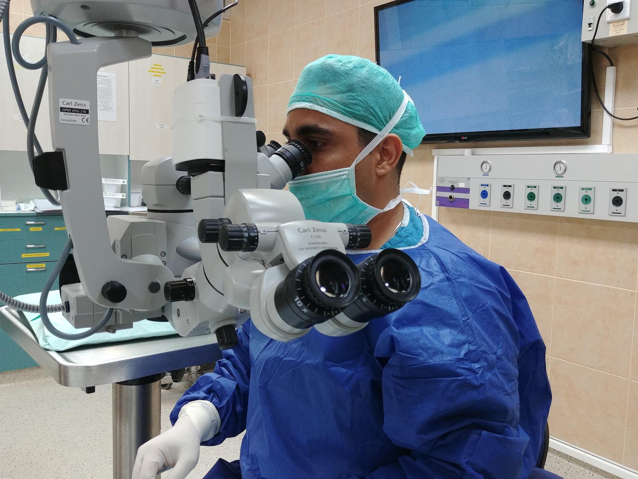 """Доктор Шмуэль Граффи. Фото: пресс-служба больницы """"Рамбам"""""""