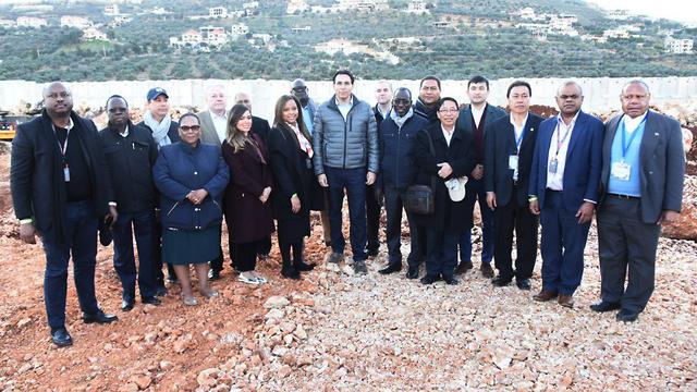 UN ambassadors tour terror tunnels  (Photo: Avihu Shapiro)