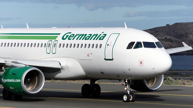 Лайнер компании Germania. Фото: shutterstock