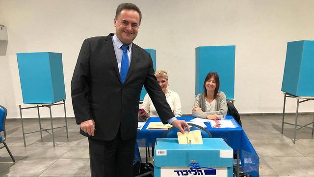 ישראל כץ הבחירות לפריימריז הליכוד 2019 ()