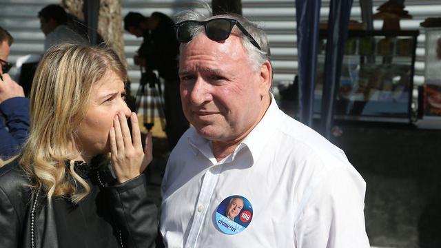 בחירות 2019 פריימריז ליכוד קלפי דודי אמסלם (צילום: מוטי קמחי)