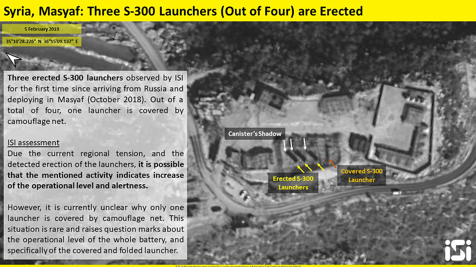 S-300 anti-aircraft missile system appears operational (Photo: ImageSat International)