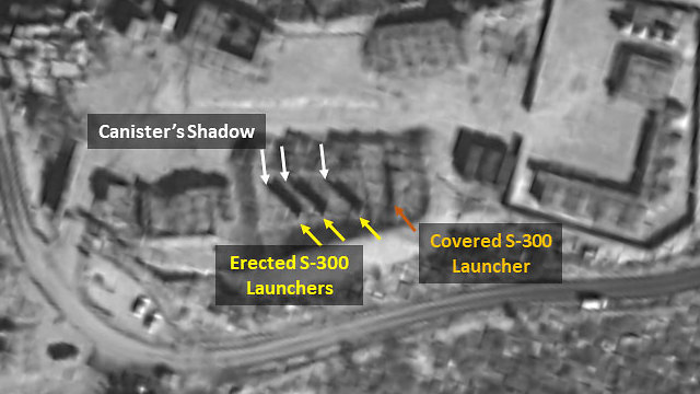 S-300 anti-aircraft missile system appears operational (Photo: ImageSat International )