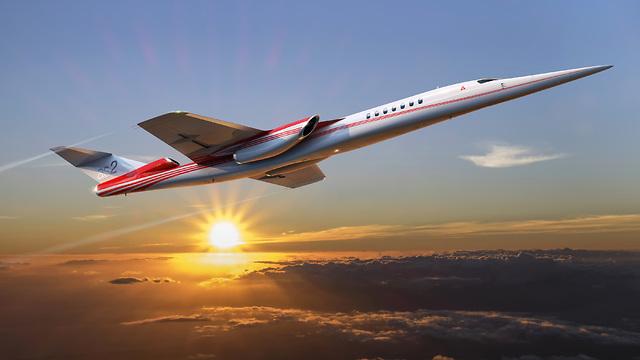 מטוס על קולי של בואינג ו-Aerion (Aerion)