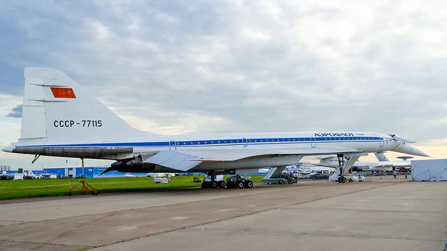 מטוס טופולב 144 (צילום: shutterstock)