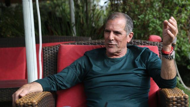 ראיון עם פנחס עידן בעקבות הפריימריז של מפלגת הליכוד (צילום: מוטי קמחי)