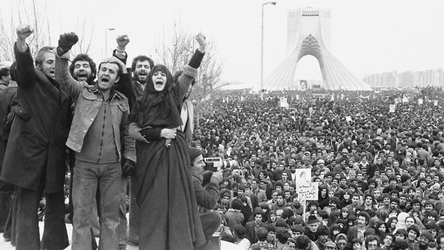 The Iranian revolution in 1979 (Photo: AP)