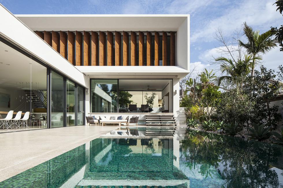 ביתה של מעצבת הפנים מיכל קינן סיני ברמת השרון  (צילום: עמית גרון)