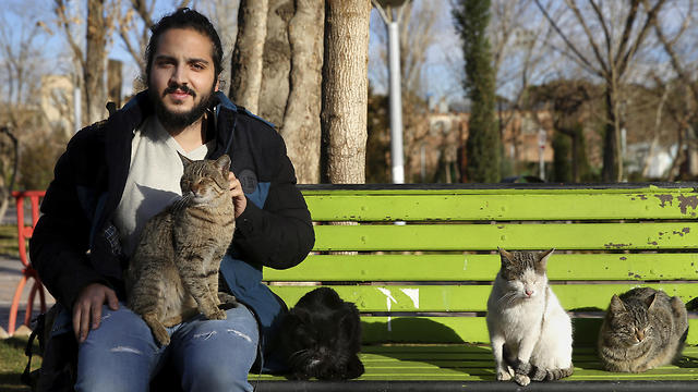 Farzad Farahani, a 22-year-old university student from Tehran (AP)
