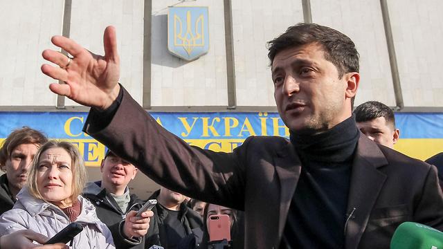 Zelenskiy leading the polls (Photo: Reuters)