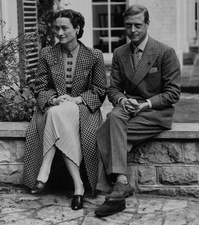 ויתר על הכל למען האהבה. אדוארד השמיני ובת זוגו וואליס סימפסון (GettyImages)