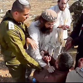 מכה רועים פלסטינים