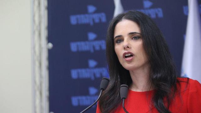 Former justice minister Ayelet Shaked (Photo: Motti Kimchi)