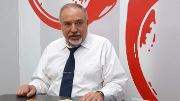 "Авигдор Либерман в редакции ""Вестей"". Фото: Ноа Лави"