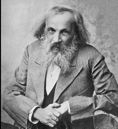 דמיטרי מנדלייב ב-1890 (צילום: מתוך ויקיפדיה)