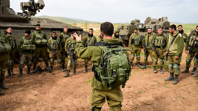 Illustrative: Israeli soldiers from the Givati Brigade on a training exercise  (Photo: GPO)