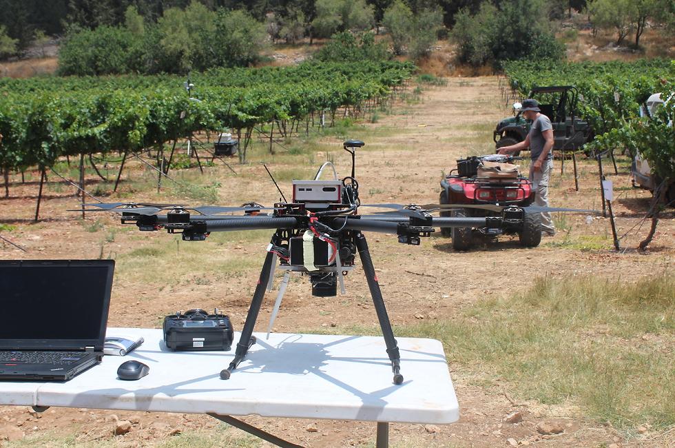 הטכנולוגיה לעזרת ההשקיה (צילום: באדיבות ד