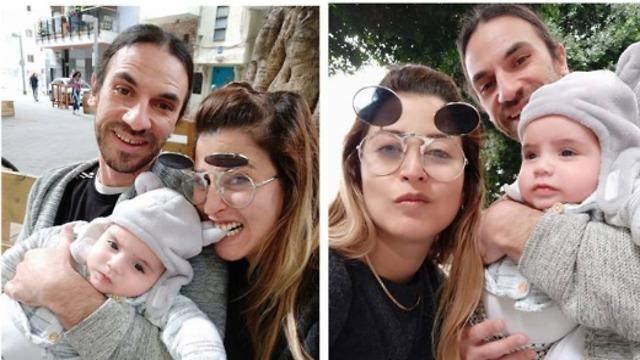 Шелли познакомилась со своим будущим мужем через соцсеть. Шелли и Йоав с ребенком. Фото: личный архив