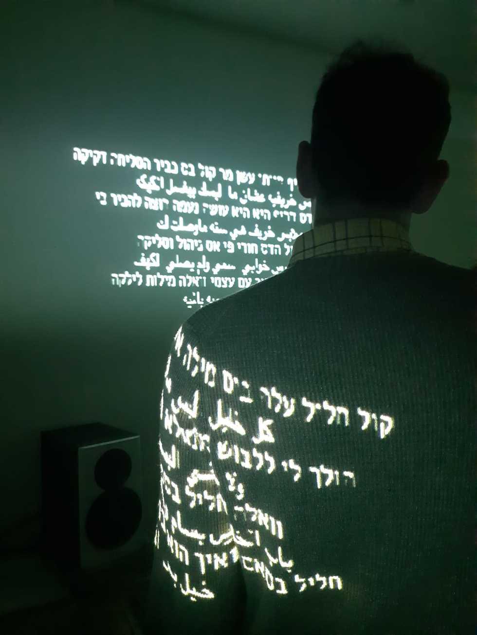 מתוך העבודה speaking in tongues (צילום: דור זליכה לוי)