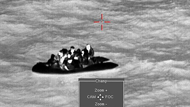 A boat of migrants crossing the English Channel (Photo: AFP)
