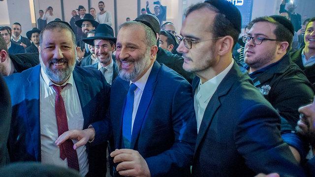 Shas Chairman Aryeh Deri (Photo: Yuval Chen)