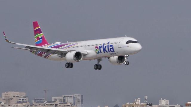 Лайнер авиакомпании Arkia. Фото: Дани Саде