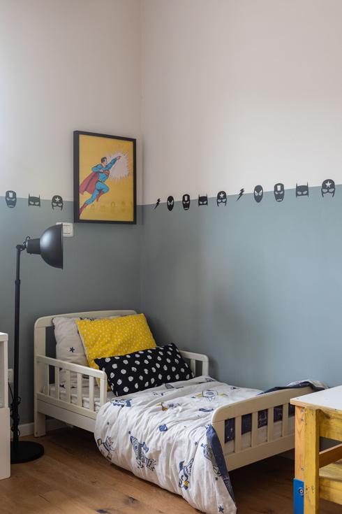 חדרו של הבן הצעיר (צילום: אורית ארנון)
