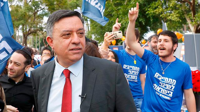 פריימריז במפלגת העבודה (צילום: AFP)