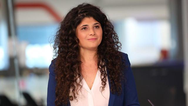 שרן השכל באולפן ynet (צילום: עידן ארבל )