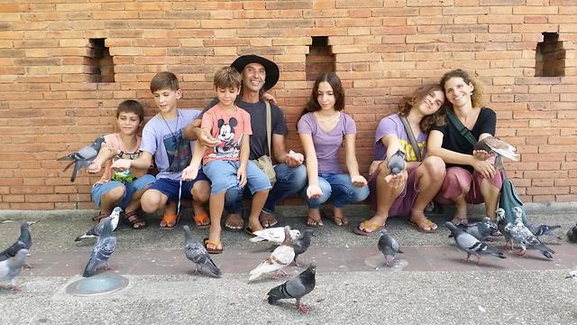 משפחת גז (צילום: אלבום פרטי)