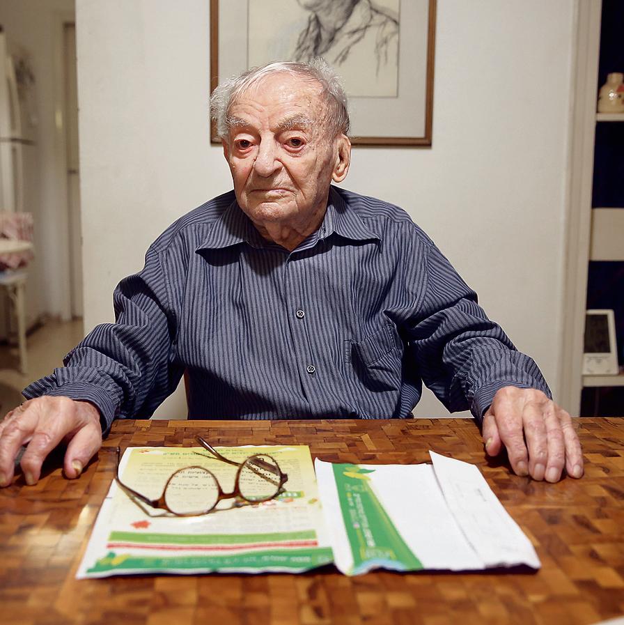 Yosef Eshed, one of the last surviving veterans of Orde Wingate's Hanotrim