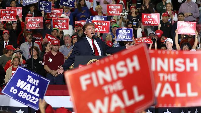 עצרת בחירות של טראמפ באל פאסו, טקסס, ב-11 בפברואר 2019 (צילום: Getty Images)
