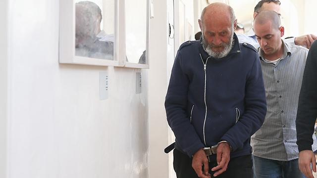 Valeri Sakowitz, arrested 25 years after the rape and murder of Vardit Bakraknot  (Photo: Ohad Zwigenberg)