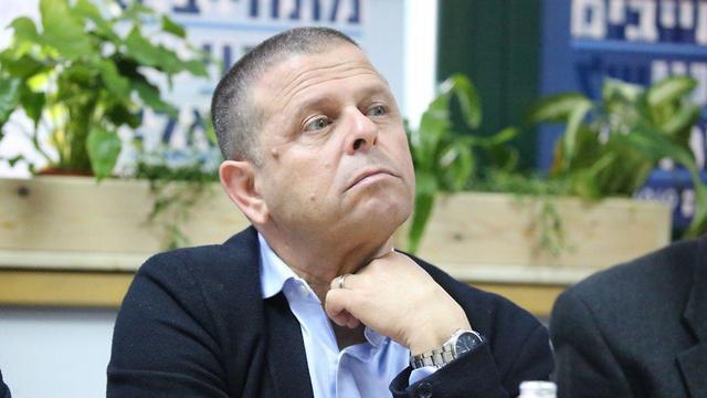 איתן כבל ועידת מפלגה בחירות 2019 (צילום: מוטי קמחי)