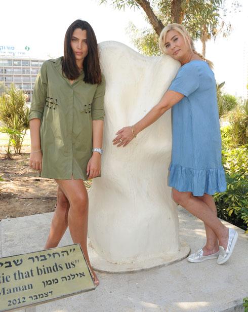 """מור ממן ואמה, אילנה. """"הייתי נערה מלאה ונאבקתי במשקל"""" (צילום: ישראל יוסף)"""