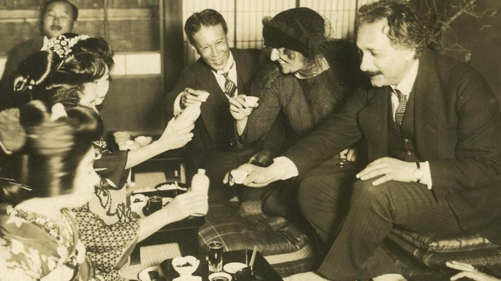 Albert Einstein in Japan, 1922