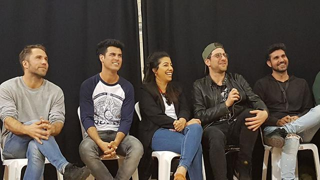 שלומי קוריאט, משה אשכנזי, שיפי אלוני, טל מוסרי ורוי מילר (צילום: קרן נתנזון ויץ)