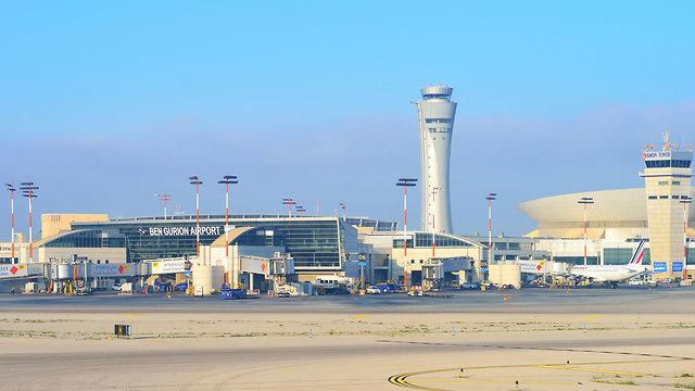 Tel Aviv's Ben Gurion Airport  (צילום: shutterstock)
