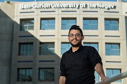 גל סופר (צילום: דני מכליס, אוניברסיטת בן-גוריון בנגב)