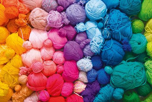הרוך של הצמר, הצבעוניות והחום שלו יוצרים חוויה גופנית נעימה (צילום: Shutterstock)