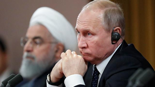 Russia's Vladimir Putin and Iran's Hassan Rouhani (Photo: AP)